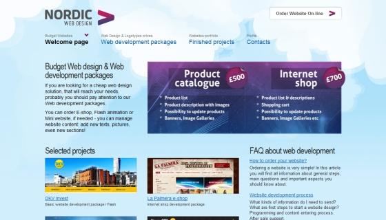 Nordic Web Design