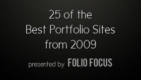 The Best Portfolio Sites of 2009