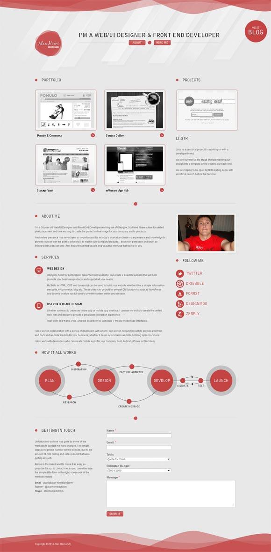 Alan Horne | Web Design