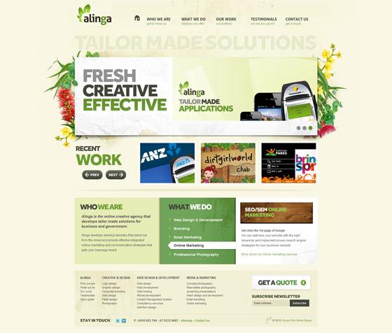 Alinga | Gold Coast Web Design