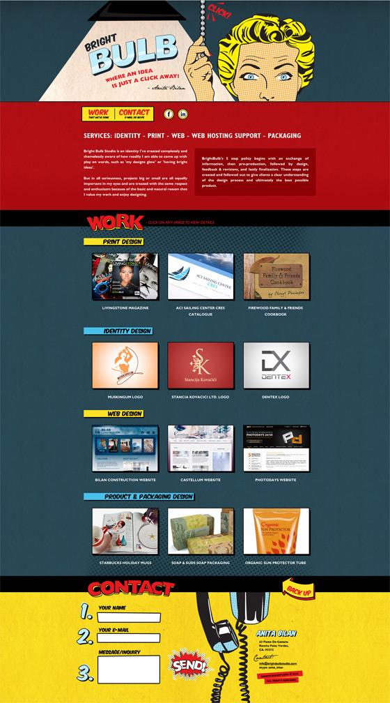 Bright Bulb Studio | Web Design