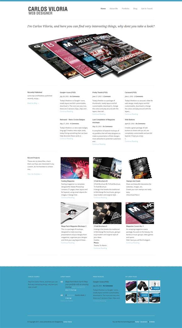 Carlos Viloria | Web Designer