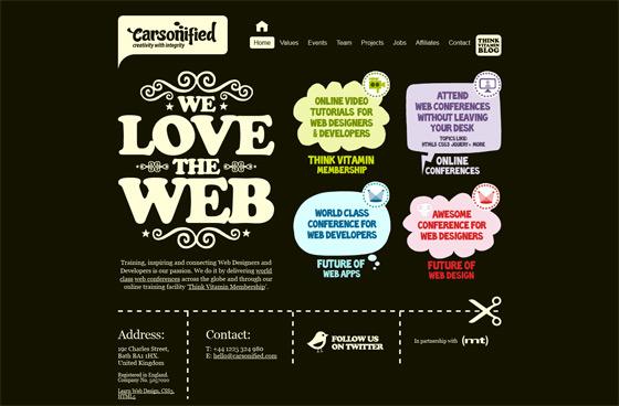 Carsonified | Web Design