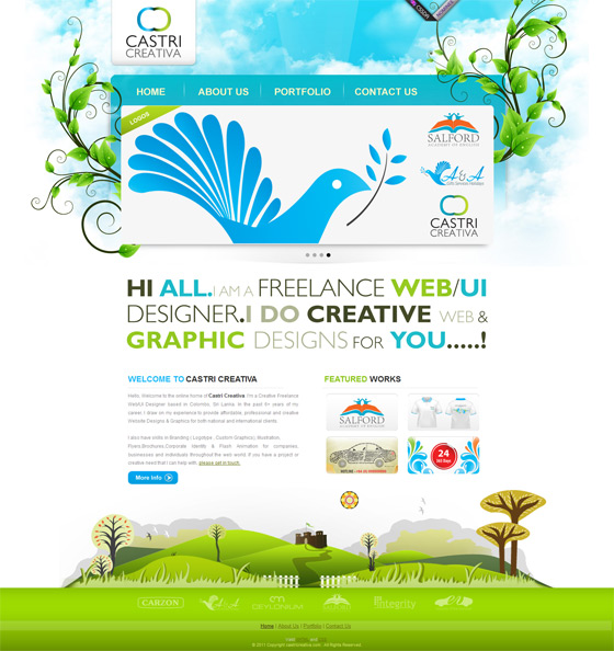 Castri Creativa | Web Design