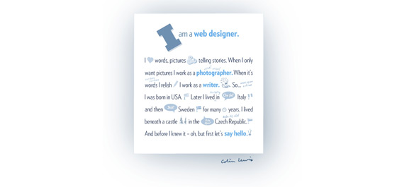 Colin Lewis | Web Designer