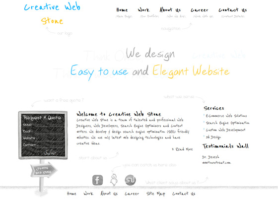 Creative Web Stone | Web Design