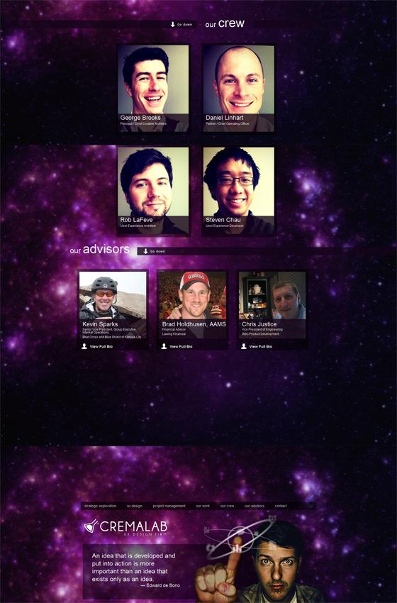 Crema Lab | Web Design