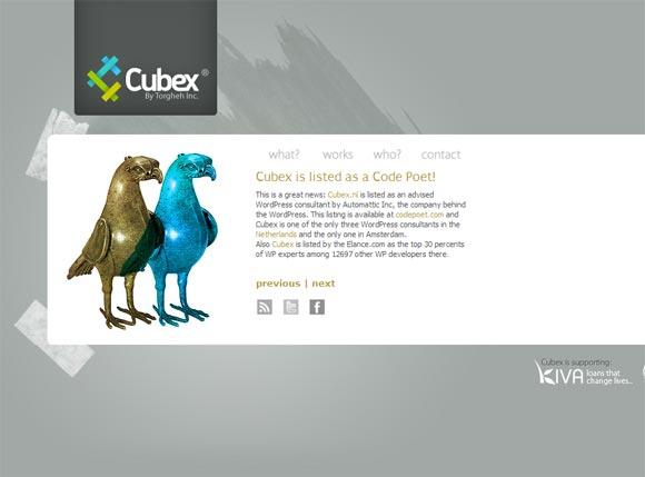 Cubex | WordPress Design