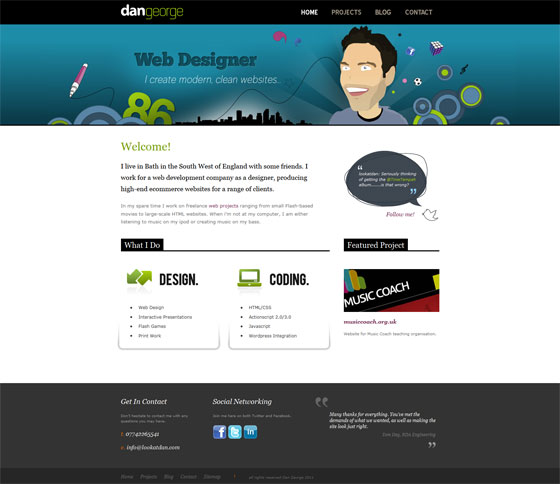 Look At Dan | Web Designer