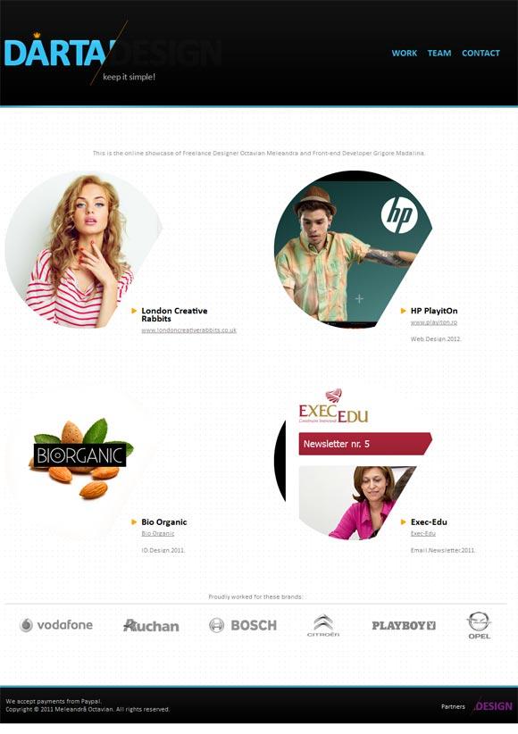 Dartadesign | Web Design