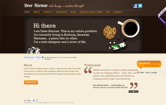 Deez Harman | Web Designer