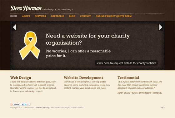Deez Harman | Web Design