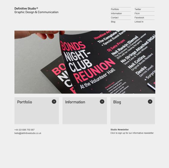 Definitive Studio | Graphic Design