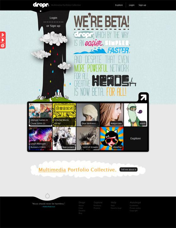 dropr | Multimedia Portfolio