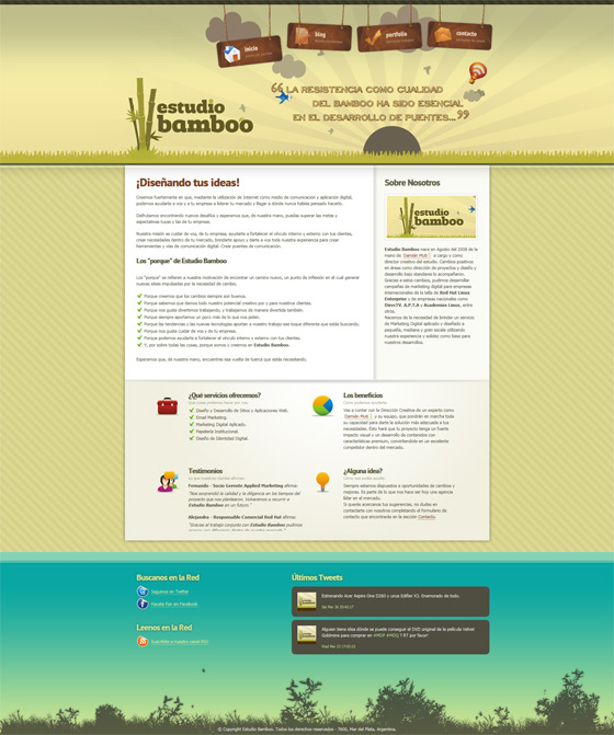 Estudio Bamboo | Web Design