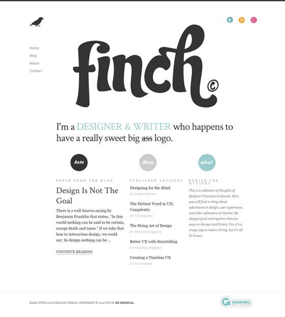Get Finch | Web Designer