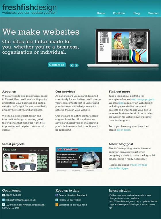 FRESHFISHDESIGN | Web Design