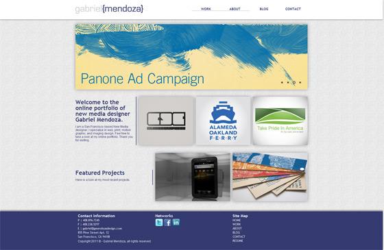 Gabriel Mendoza Design | Web Designer