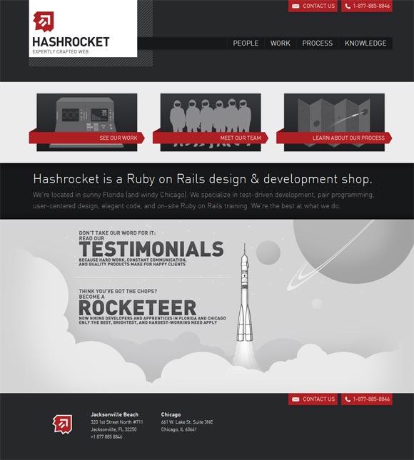 Hashrocket | Web Design