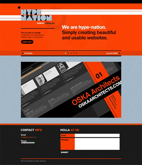 Hype-Nation | Web Design