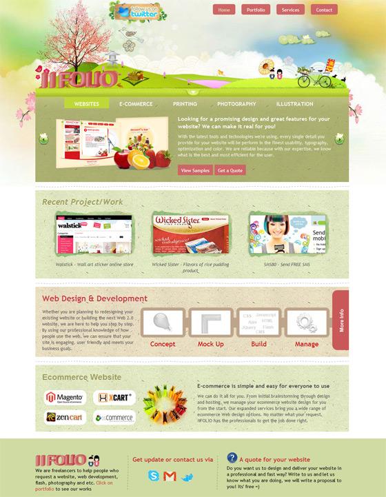 IIFOLIO | Web Design