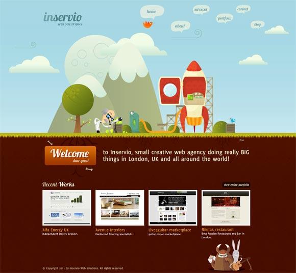 Inservio | Web Design