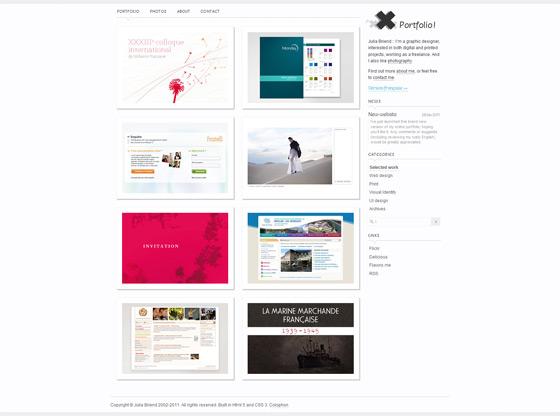 Julia Briend | Web Designer