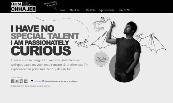 Kunal Chhajer | Web Designer