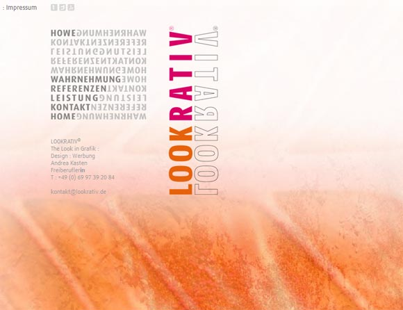 Lookrativ   Design