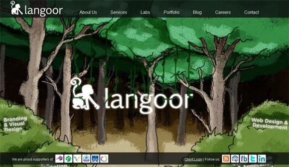 Langoor | Web Design