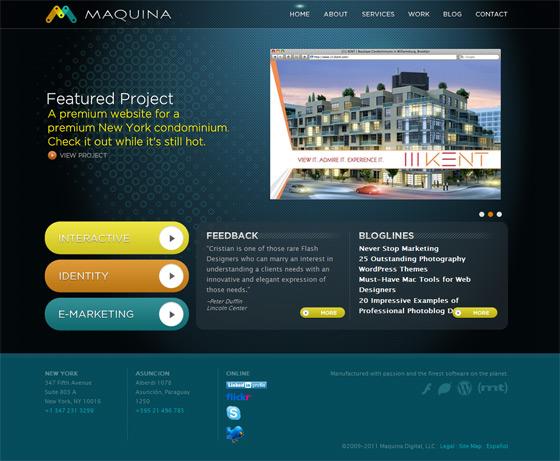 Maquina Studio | Web Design