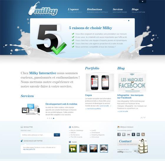 Milky Interactive | Web & App Design