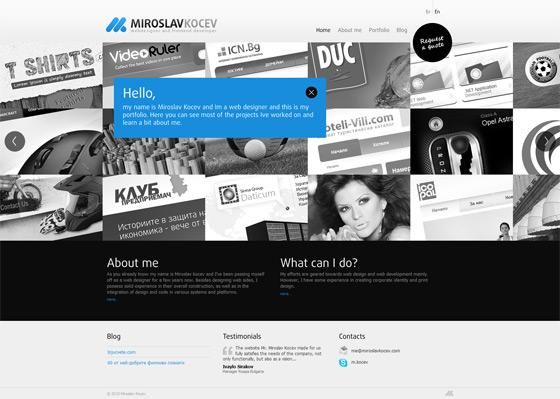 MIROSLAV KOCEV | Web Designer