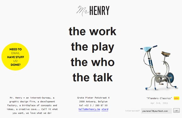 Mr Henry | Graphic Design