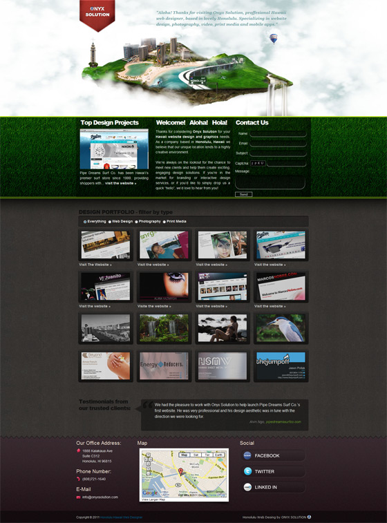 Onyx Solution | Web Design