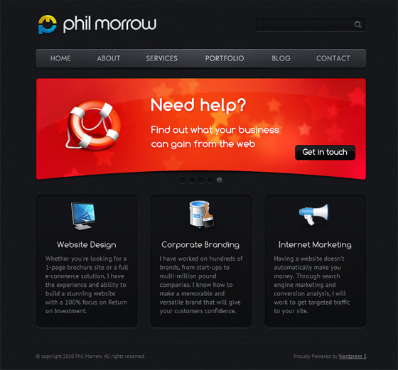 Phil Morrow | Web Designer
