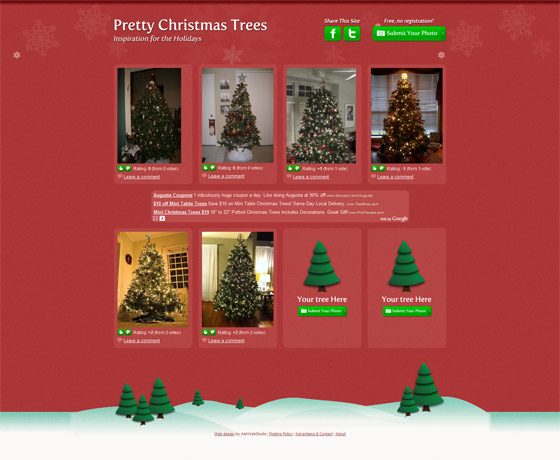 Pretty Christmas Trees