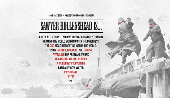 Sawyer Hollenshead | Designer