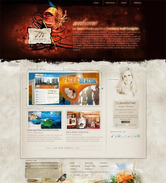 Tawni Martin | Web Design