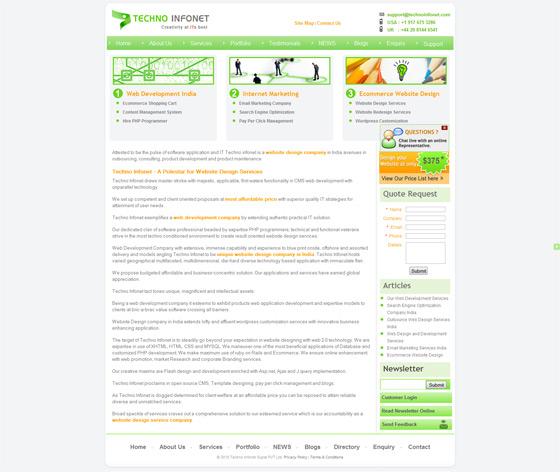 Techno Infonet | Web Design