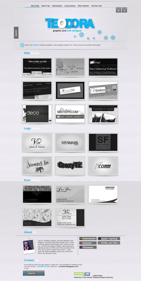 TEODORA Web & Graphic Design