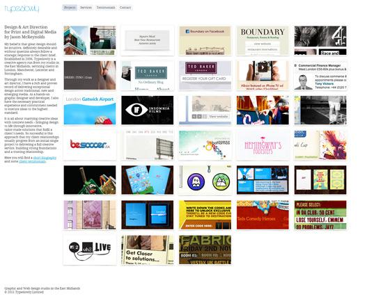 Type Slowly | Web Design