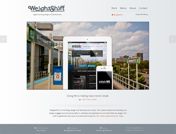Weightshift | Design