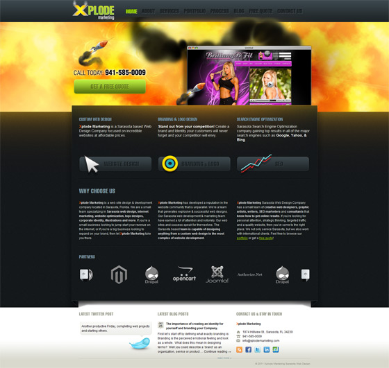 Xplode Marketing | Web Design