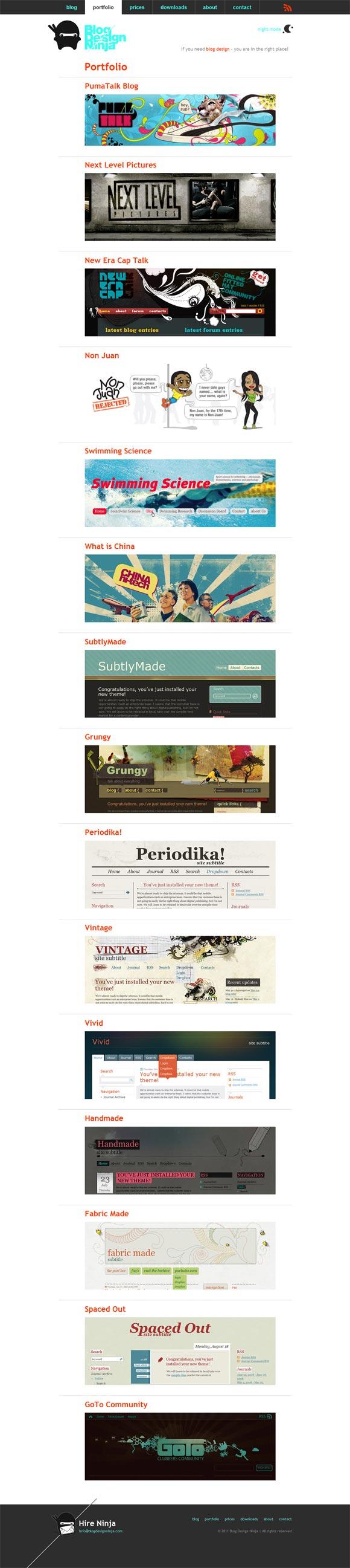 Blog Design Ninja | Web Design