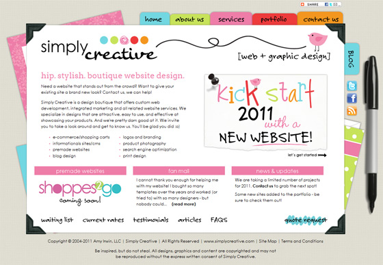 Simply Creative | Web Design