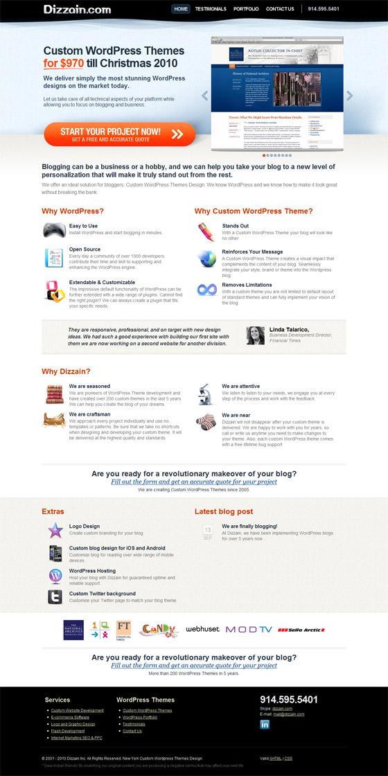 Dizzain WordPress Themes
