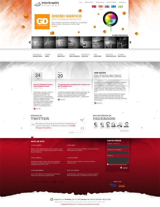 Intergraphic Designs | Web Design