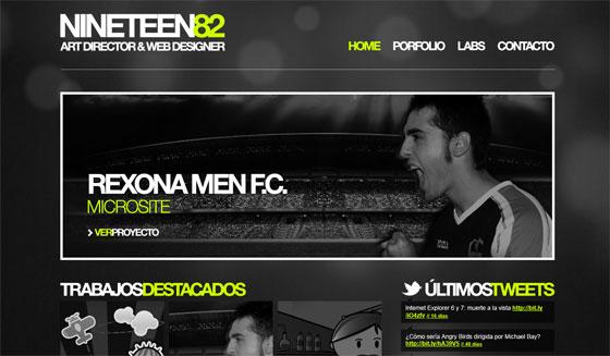 Nineteen82 | Web Designer