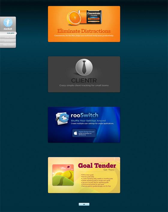 Rocket | Web Design & Mobile Apps